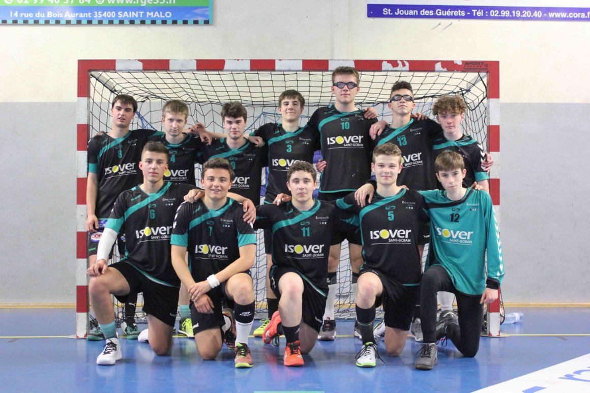 ZOOM SUR LA FORMATION MASCULINE : la relève du CJF et d'ÉMERAUDE Handball