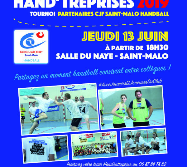 Reportage PHOTOS : Tournoi HANDTREPRISES 2019 (350 photos !)