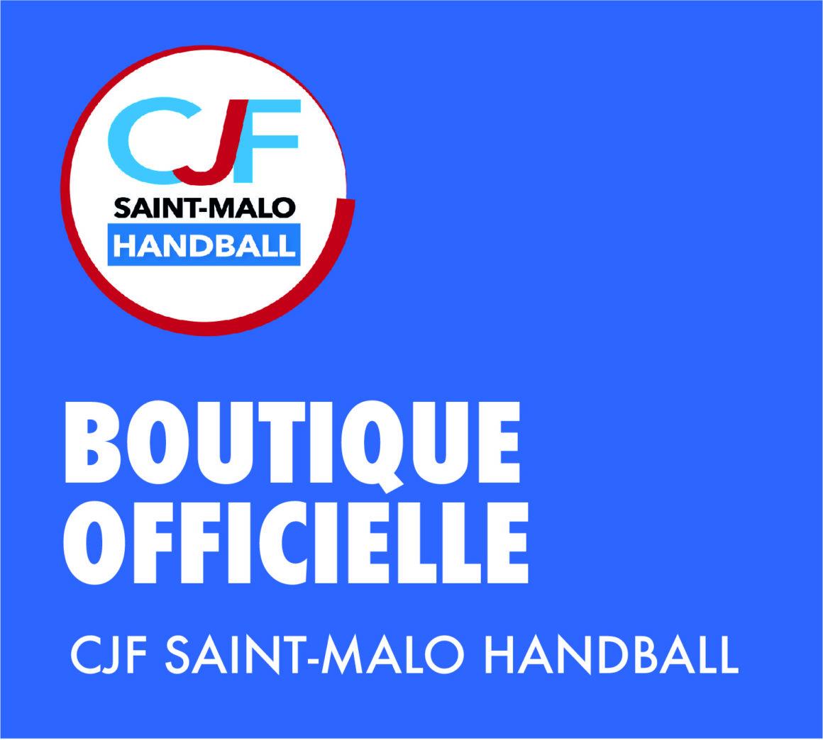 NOUVEAUTÉ : Le CJF Saint-Malo Handball présente… SA BOUTIQUE OFFICIELLE !!!