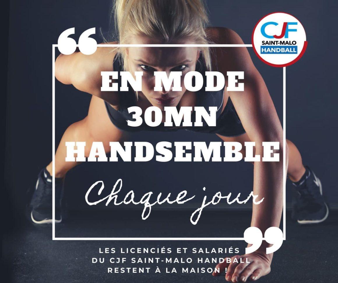 30 minutes Handsemble – Fiches n°12 et n°13 + Fiches techniques