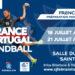 L'ÉQUIPE DE FRANCE U19 arrive sur ses terres malouines - 16 au 22 juillet 2019 - Summer Camp Mondial 2019